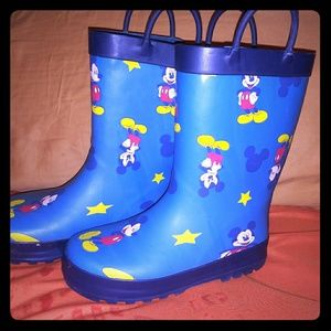Mickey Rainboots